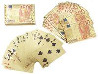 """Карты игральные подарочные """"Евро"""" 50шт"""