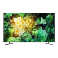 "Televizor 65"" LED TV SONY KD65XH8196BAEP, Black"
