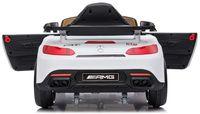 Электромобиль Chipolino Mercedes Benz GTR AMG (ELKMBGTR01W) White