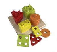 Cubika игрушка Сортер Геометрические фигуры
