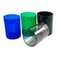 Стаканы пластиковые для ручек, разноцветные