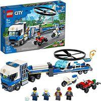 LEGO City Полицейский вертолётный транспорт, арт. 60244
