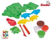 Simba набор AF  Пластилин Дино