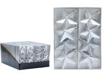 Набор звездочек 8X65mm, серебряные