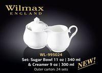 Сахарница и молочник WILMAX WL-995024 (набор 340 мл /300 мл)