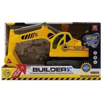 """1:18 Экскаватор """"Construction 360-Excavator Truck"""" (свет / звук)"""