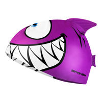 Шапочка для плавания Spokey Rekiken, violet, 87476