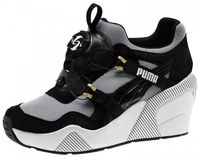 Кроссовки Puma Disc Wedge Black and  White Wn s