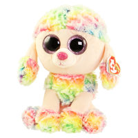 Ty Rainbow Multicolor Poodle 24cm (TY37145)