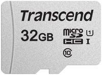 Сard de memorie Transcend MicroSD 32Gb Class 10 UHS-I (TS32GUSD300S)