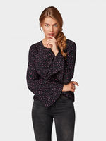 Блуза TOM TAILOR Чёрный 1007079