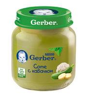 Gerber пюре овощной салатик, 5+мес. 130г