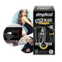 SIMPLICOL Back-to-Black Краска для окрашивания и восстановления цвета одежды в стиральной машине (чёрный), 750 г