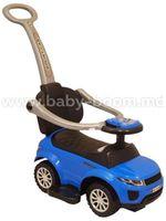 """Baby Mix  UR-HZ614W  Машина с ручкой """"Голубая""""."""