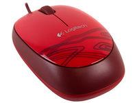cumpără Mouse Logitech M-105 Optical, Red, USB în Chișinău