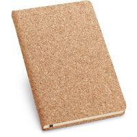 Тетрадь ADAMS А5, 160 листов, чистая, пробковая обложка