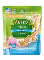 Каша Heinz Омега3 рисовая с молоком, с 4месяцев, 200г
