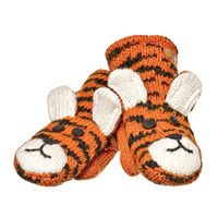 Варежки взрослые Knitwits Taz The Tiger Mittens, A2599