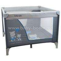 Baby Mix HR-SQ106-8 BLUE Манеж серый/синий