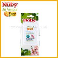 Nuby CG40048AREN Натуральные антибактериальные салфетки (48 шт.)