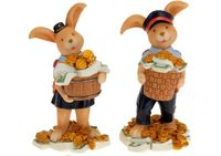 Сувенир Кролик - полисмен 16.5сm