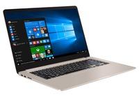 """NB ASUS 15.6"""" S510UQ Gold (Core i5-7200U 8Gb 256Gb) 15.6"""" Full HD (1920x1080) Non-glare, Intel Core i5-7200U (2x Core, 2.5GHz - 3.1GHz, 3Mb), 8Gb (1x 8Gb) PC4-17000, 256Gb M.2, GeForce 940MX 2Gb, HDMI, 802.11ac, Bluetooth, 1x USB 3.1 Type C, 1x USB 3.0, 2x USB 2.0, Card Reader, Webcam, Endless OS, 3-cell 42 WHrs Battery, 1.7kg, Gold Metal"""
