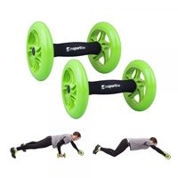 Ролики для пресса Wheel inSPORTline AB Roller Double 13474 (100 кг) (3430)