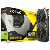 ZOTAC GTX 1070 AMP! Edition, 8GB DDR5 256bit 1797/8000Mhz