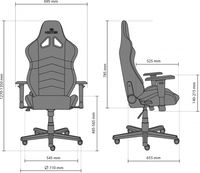 Офисное кресло Новый стиль Hexter RC R4D Tilt MB70 Eco/01 Black/Red