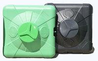 """купить Емкость  - душ 200 л (зелен.) x1/2""""П + душевая насадка (3-хслойная) 97*97*44 в Кишинёве"""