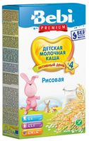 Bebi Молочная рисовая каша (4+) 250 гр.