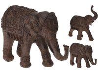 """купить Статуэтка """"Слон в накидке"""" керамическая,24X2X9.5cm,цвет брон в Кишинёве"""