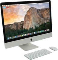 """Apple iMac 27-inch MK482RU/A 27"""" 5120x2880 Retina 5K, Core i5 3.3GHz - 3.7GHz, 8Gb, 2Tb Fusion Drive, Radeon R9 M395 2Gb, OS X El Capitan, RU"""