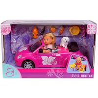 Кукла Steffi Love Еви в машине Simba 5731539