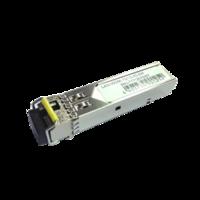 SFP module,1.25G single fiber, WDM, 1550nmTX/1310nmRX, SC/UPC connector, 20km