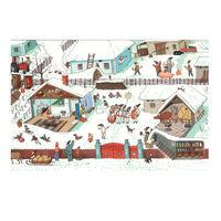 купить Почтовая Открытка – Рождество в деревне в Кишинёве