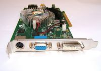 Video Card Inno3D 512Mb GeForce GF7600GT AGP8x (400/667MHz) DDR-II TV-out + DVI