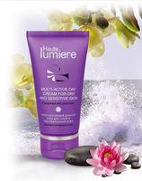 Мультиактивный дневной крем для сухой и чувствительной кожи.