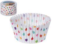 Формы для кексов бумажные Cucina 60шт, D12сm