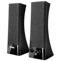 купить Speakers SVEN 235 Black,  2.0 / 2x2W RMS, headphone jack в Кишинёве