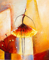 Oil Paintings Ballerina (PEO15000985)