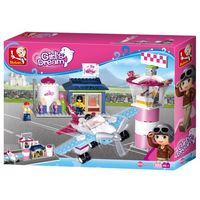 Конструктор GIRL IS DREAM Fantasy Flying Club -АЭРОДРОМ 284pcs В0608