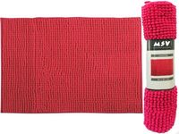 Covoras pentru baie 40X60cm Chenille roz, microfibra