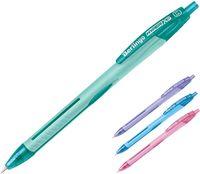 Berlingo Ручка шариковая BERLINGO Hyper XS автом. 0.5мм синяя