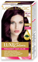 Vopsea p/u păr, SOLVEX Miss Magic Luxe Colors, 108 ml., 108 (4.5) - Mahon închis