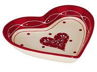 купить Блюдо в форме сердца Love Story 21cm в Кишинёве