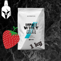 Изолят сывороточного белка - Impact Whey Isolate - Натуральная Kлубника    - 1 KG