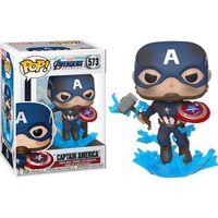 Funko Pop Movies: Avengers Endgame, Captain America