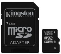 Kingston microSDHC 32Gb Class 10 (SDC10/32GB)