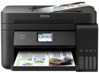 Epson L6190, ADF, Duplex Copier/Printer/Scanner/Fax, A4, Ethernet, ADF, Duplex, Wi-Fi / Wi-Fi Direct, iPrint, 33/15 pg/min, CiSS, print: 5760x1440, scan: 1200x2400, USB2.0